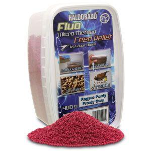 Haldorádó - Fluo Micro Method Feed Pellet - Crap Înghețat